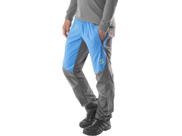 Karpos Rock Pantalones Hombre, gris/azul